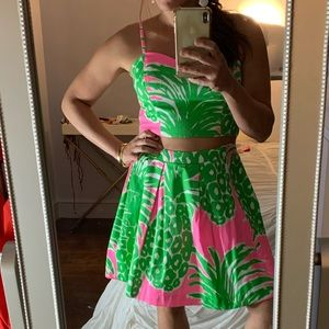 Lily Pulitzer two piece